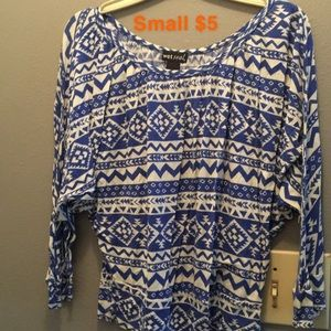 Wet Seal Small Aztec Pattern